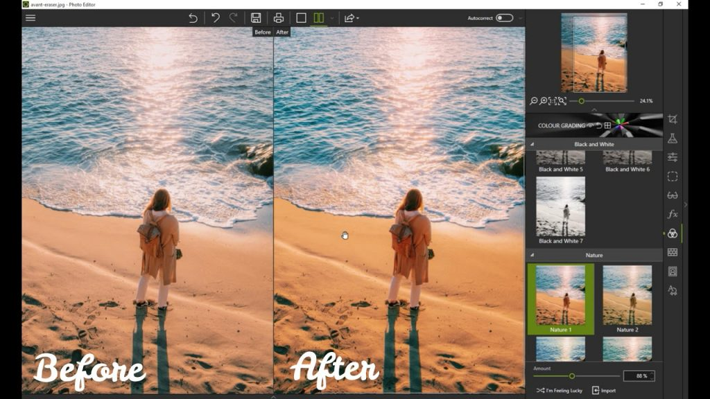 Az InPixio remek eszköz a fényképek javításához és kreatív montázsok készítéséhez